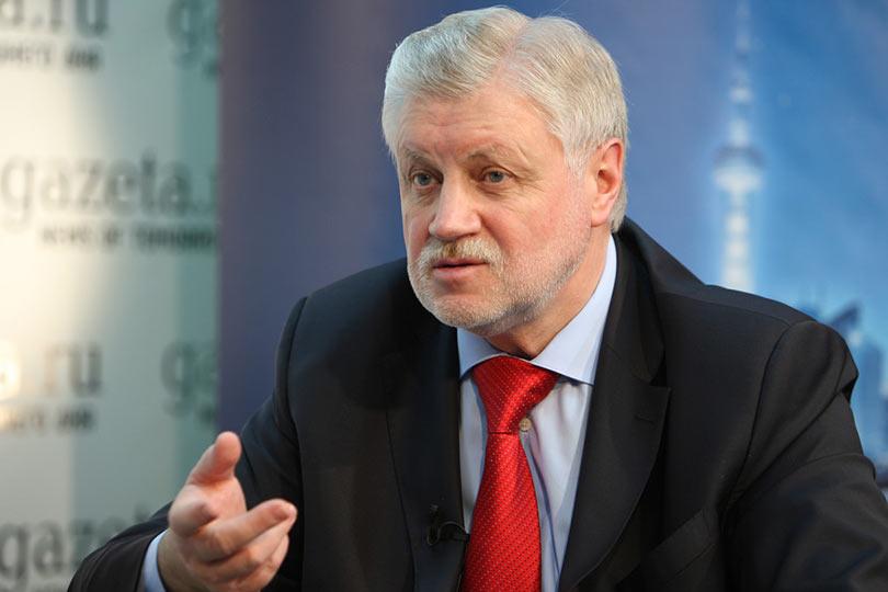 Миронов рассказал, какой должна быть пенсия в России